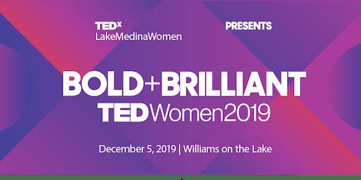 TEDxLakeMedinaWomen - WOMEN'S CONFERENCE LIVESTREAM PARTY