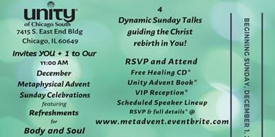 Metaphysical Advent Sunday Celebrations