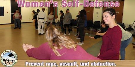 Women's Self Defense Workshop - (Hempstead Public Library) - part 1, part 2 tickets