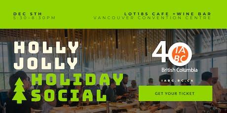 IABC/BC Holly Jolly Holiday Social tickets