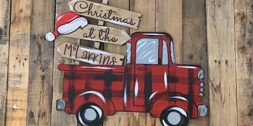 4th Date Christmas Truck Paint Party