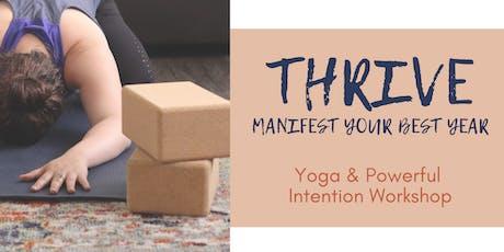 THRIVE: manifest your best year tickets