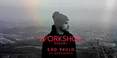 SÃO PAULO x WORKSHOP CREATXRS / Monotoshi ingressos