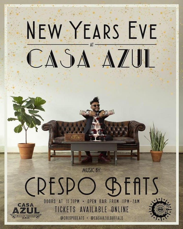 Shred It Events Buffalo Ny 2020.Casa Azul New Year S Eve Celebration