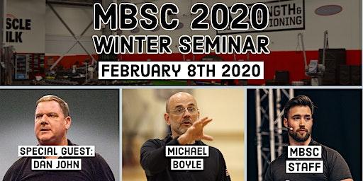 2020 MBSC Winter Seminar featuring Dan John