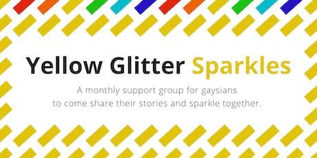 Yellow Glitter Sparkles tickets