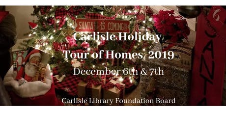 Carlisle Holiday Tour of Homes 2019 tickets