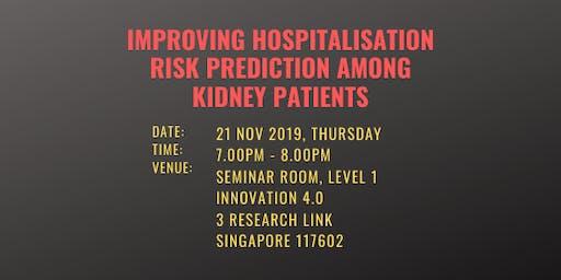 Improving Hospitalisation Risk Prediction Among Kidney Patients