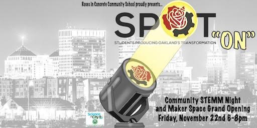 "Community STEMM Night:  ""S.P.O.T. On"""