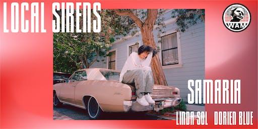 WAM's Local Sirens feat. Samaria, Linda Sol and dorien blue