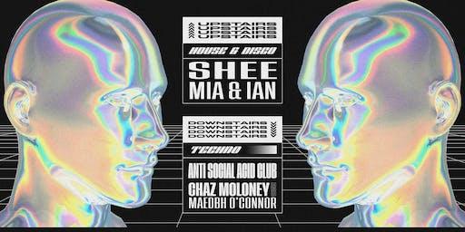 TOT X BP w/ Anti Social Acid Club / SHEE / Chaz M./ Maedbh O'C.