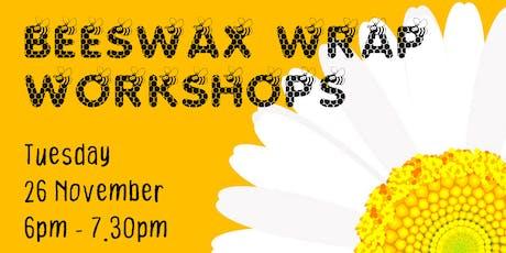 Beeswax Wrap Workshop 26 November tickets