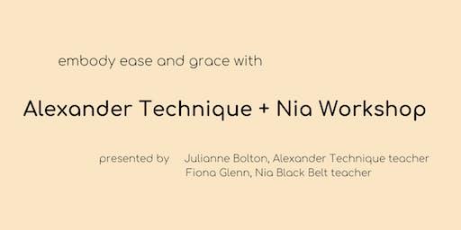 Alexander Technique + Nia Workshop