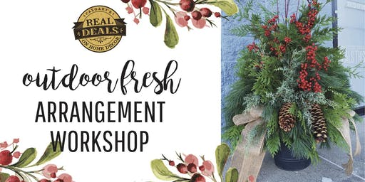 Fresh Outdoor Arrangement Workshop