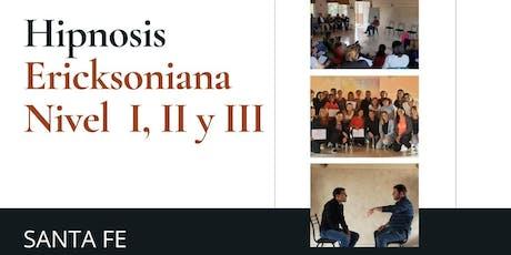 SANTA FE. Formación en Hipnosis Ericksoniana. Intensivo de verano. entradas