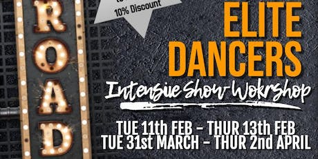 Feb Broadway Elite Workshop tickets