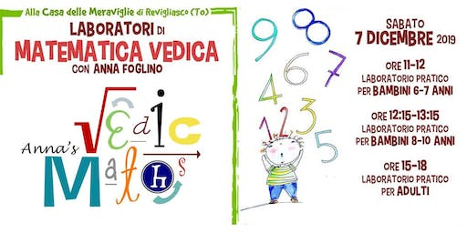 Laboratori e Workshop di Matematica Vedica