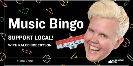 Music Bingo: Support Local Edition tickets