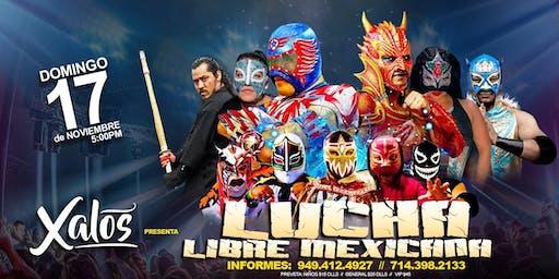 Lucha Libre Mexicana en Xalos