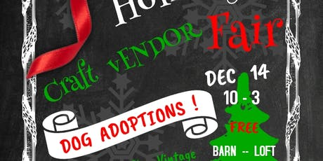 Holiday Craft Vendor Fair at Old Rugged Barn tickets
