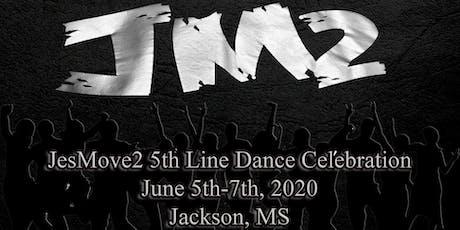 JesMove2  5th Line Dance Celebration 2020 tickets