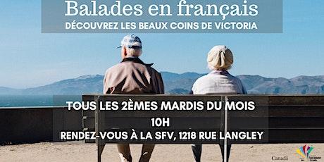 Balades en Français billets