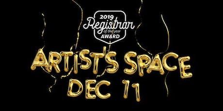 Registrar of the Year Award tickets