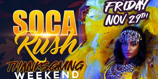 SOCA RUSH - APPRECIATION PARTY