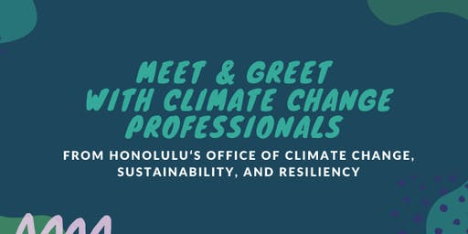 Meet Climate Change Professionals from City and County of Honolulu