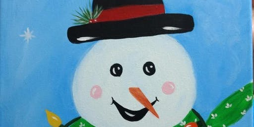 Snowman Painting with Kathy Anthony