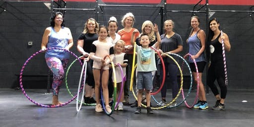 Hula Hoop Fitness Class