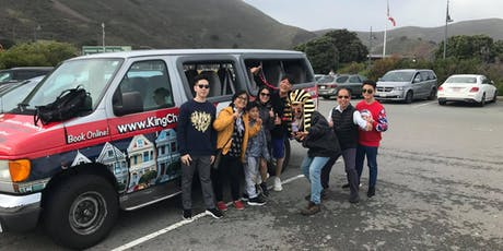 The Ultimate Tour of San Francisco - via a small sight seeing shuttle tickets