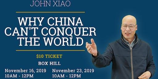 China Can't Conquer The World - Seminar