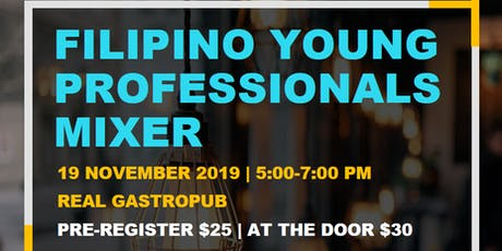Filipino Young Professionals Mixer tickets