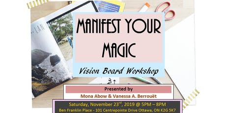 Manifest Your Magic - Vision Board Workshop tickets