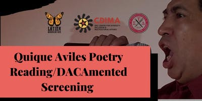 Book Talk with Quique Aviles and Film Screening of Dacamented