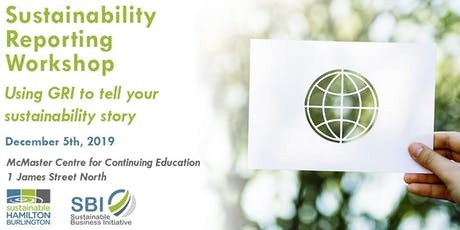 Sustainability Reporting Workshop tickets