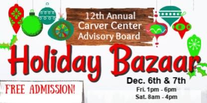 Carver Center Holiday Bazaar
