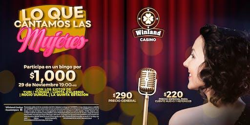 Lo que cantamos las  mujeres   Tributo a Yuri, Lupita D'Alessio, Yuridia...