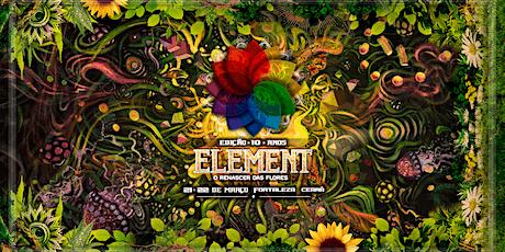 Element Festival - Edição 10 anos ingressos