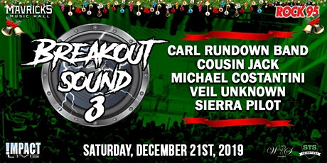 ROCK 95 BREAKOUT SOUND 3 Christmas Concert Party! tickets