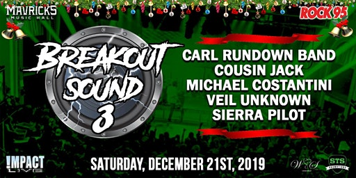 ROCK 95 BREAKOUT SOUND 3 Christmas Concert Party!