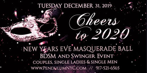 Cheers to 2020 - New Years Eve Masquerade Ball