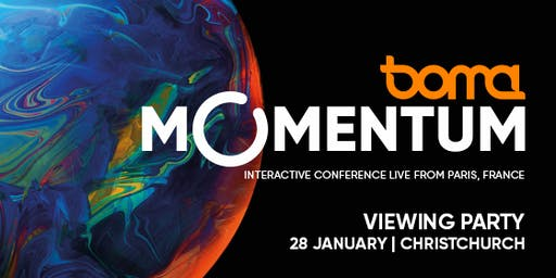 Boma Momentum Live Viewing Party | Christchurch | 28 January 2020