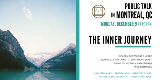 Public Talk in Montreal - The inner journey