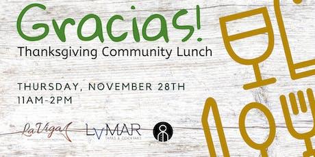 Gracias! - Free Thanksgiving Community Lunch tickets
