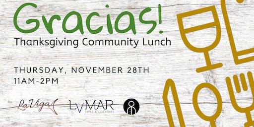 Gracias! - Free Thanksgiving Community Lunch