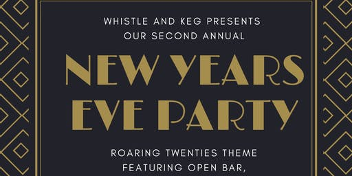 Roaring Into 2020  NYE Party