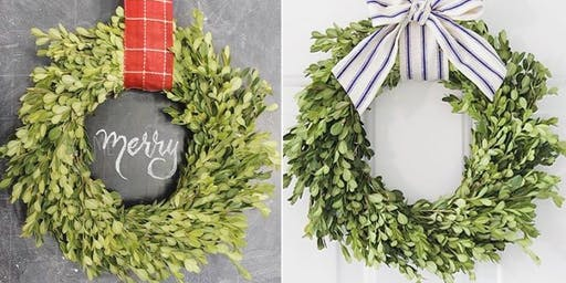 Wreath making + Candle making class