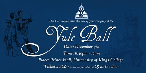 Hal-Con's 6th Annual Yule Ball